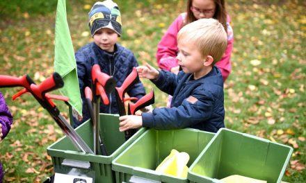 Børnehavebørn leger sig til gode affaldsvaner i Randers Kommune