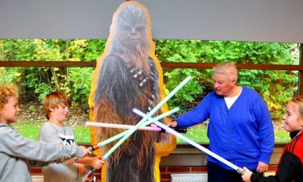 Motionsdag i Luke Skywalkers fodspor
