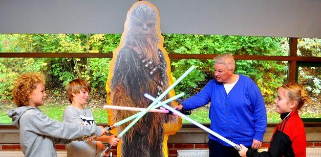 Motionsdag i Luke Skywalkers fodspor