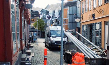 Ny gadebelysning i Randers midtby
