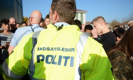 Stor politiøvelse i Randers torsdag