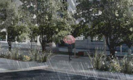 Regnvandsbassin til Østervold