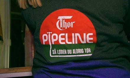 Thors pipeline fejrede 25 år i Storegade