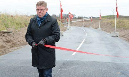 Ny vej indviet ved Munkdrup