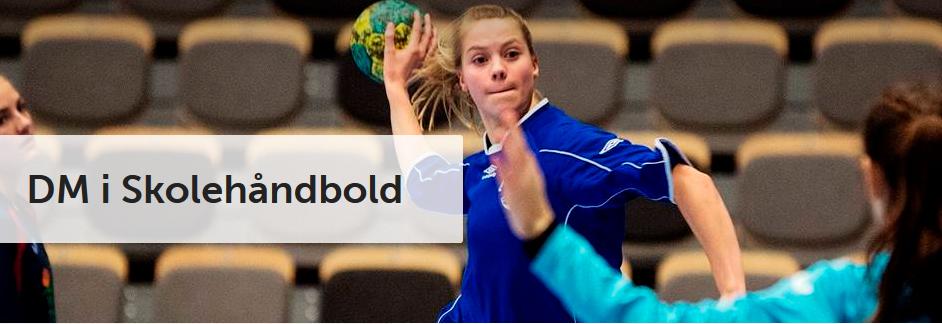 DM i skolehåndbold for 8.kl. i Assentofthallerne