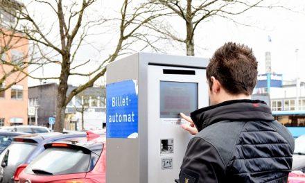 Randers tester papirløse p-automater