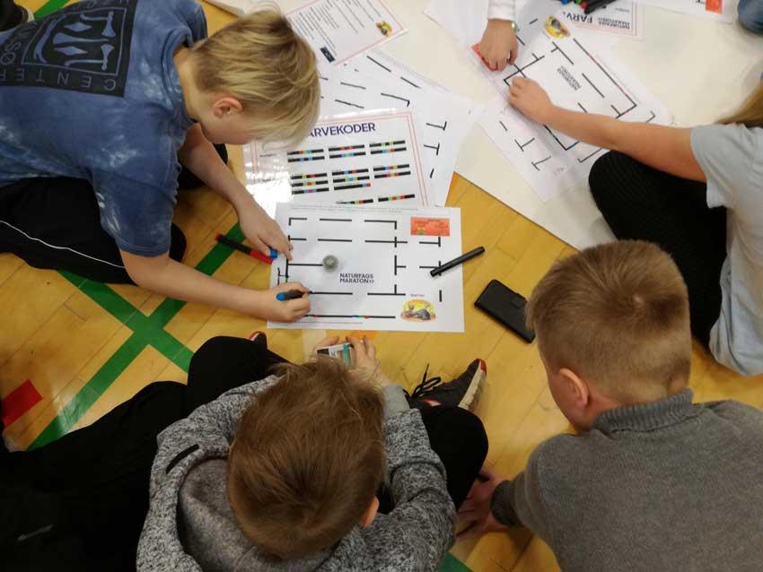 Elever fra Fårup Skole og Børneby vinder Naturfagsmaraton