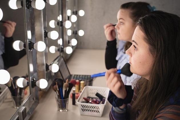 Unge udvikler talent både for skuespil og livet