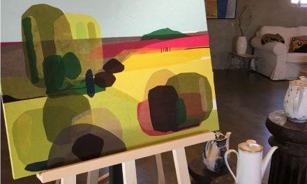 Kunst og lopper på Frederiksdal