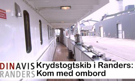 Boutique krydstogtsskib på besøg i Randers