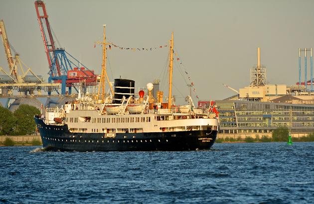Randers får besøg af krydstogtsskib