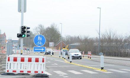 Nu spærres Viborgvej og Parkboulevarden igen