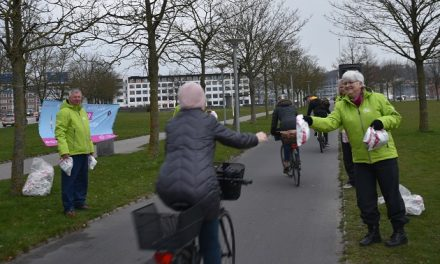 Cyklister fik gratis rundstykker