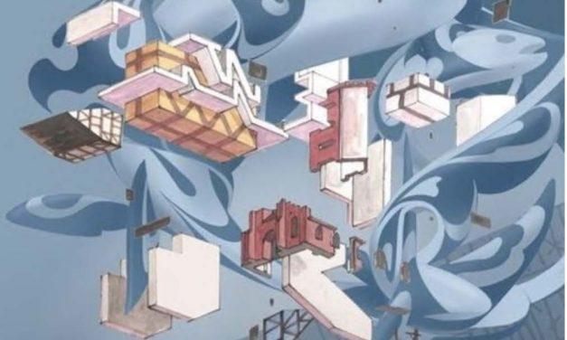 Urban 3D kunst på Østervold