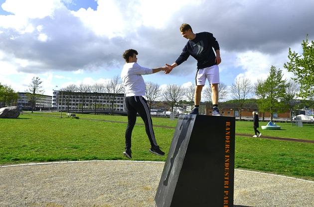 Parkour og skateboard på Gadeidrættens Dag