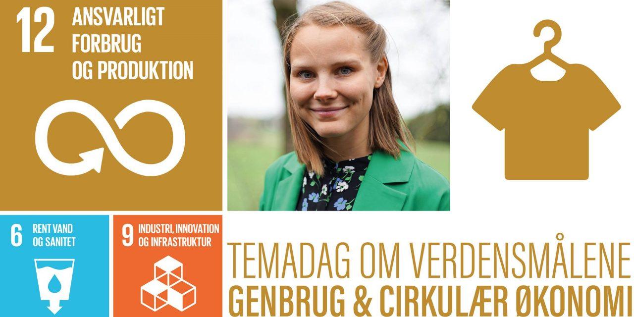 """Kom til re-cycle i Randers City med Lise fra """"nybyggerne"""""""