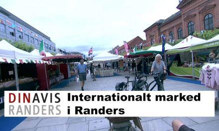 Internationalt marked en fredag eftermiddag – mellem regnbygerne