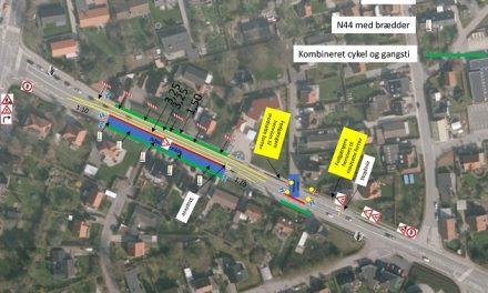 Kloakarbejde i Neder Hornbæk gør Fladbrovej et-sporet for en dag