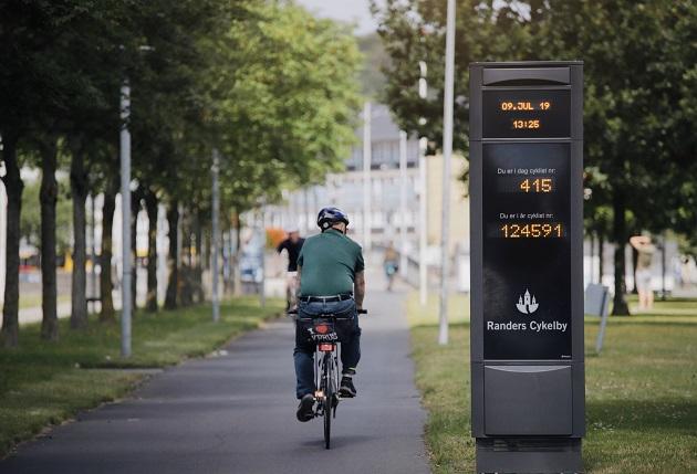 Nye cykeltællere og cykellæn i Randers