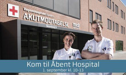 Regionshospitalet inviterer til Åbent Hospital