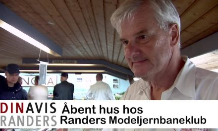 "Åbent hus i Modeljernbaneklubben '""GUDENÅEN"" Randers"