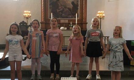 Opstart af børnekor i Sct. Peders Kirke