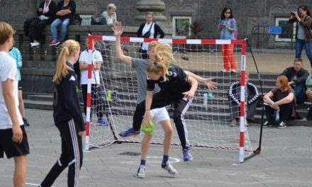 Goalcha DM Tour i Street håndbold ved Randers Storcenter
