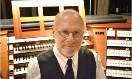 Sommerkoncert med amerikansk organist