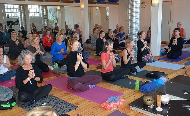 Stadig billetter til Randers Yoga Festival