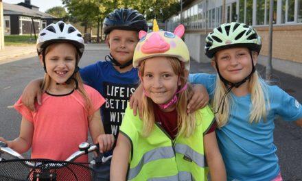 Elever glæder sig til cykelkampagne