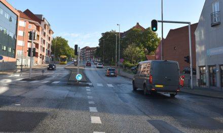 Vejarbejde på Vestervold: Kun ét kørespor i nordgående retning