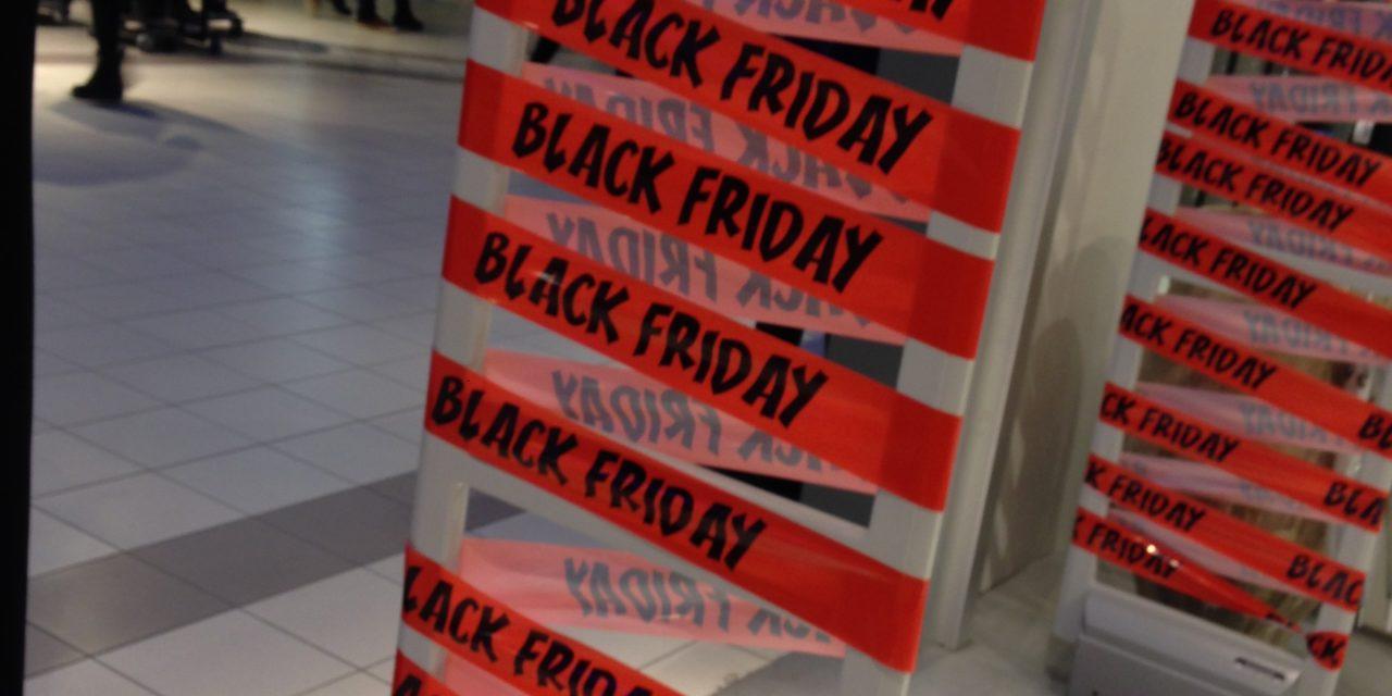 Black Friday fredag d. 29. november i Randers Storcenter