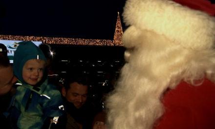 Så blev det jul i Randers