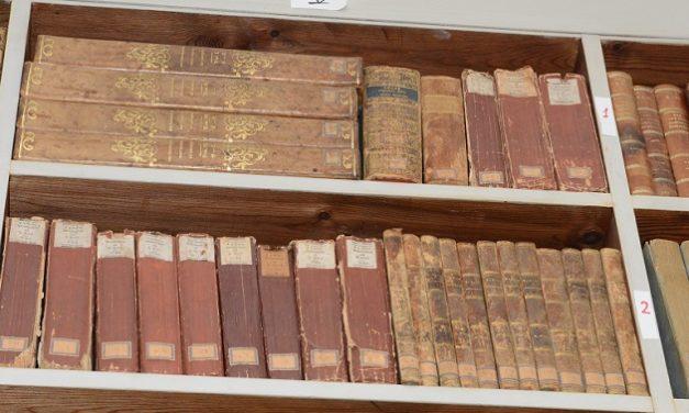 Skik på det gamle bibliotheque