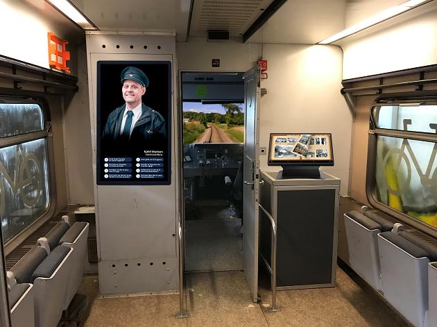 Levende toghistorie i Sporbyen