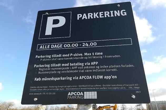 Ingen kommunal tilladelse til betalt parkering