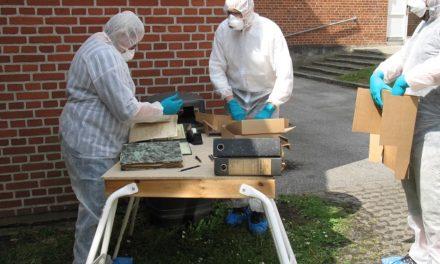 Giftmasker og beskyttelsesdragter fra museum til hospital i en svær tid