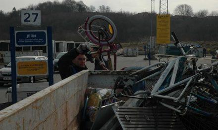 Genbrugspladsen lukker for private