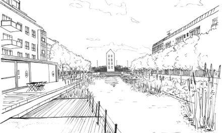 Regnvand skal skabe nyt rekreativt område på Østervold