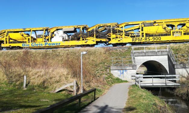 Randers : Togbusser i påsken