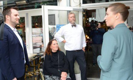Statsministeren på overraskelsesbesøg i Randers