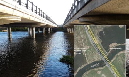 Udvidelse af E45 medfører ny bro over Gudenåen