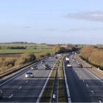 Alvorligt færdselsuheld på motorvejen ved Randers