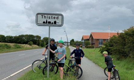 På cykeltur fra Randers til Hanstholm