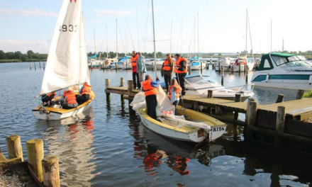FDF Randers 2 sejler på Østervold