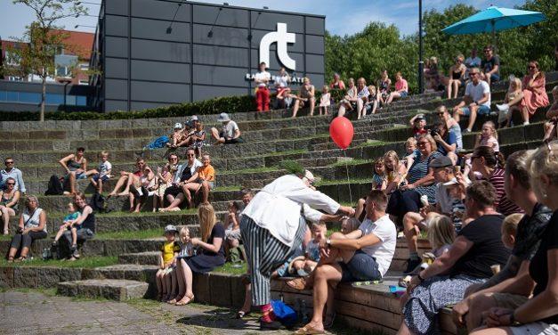 Hed og sjov dag på Randers Teater