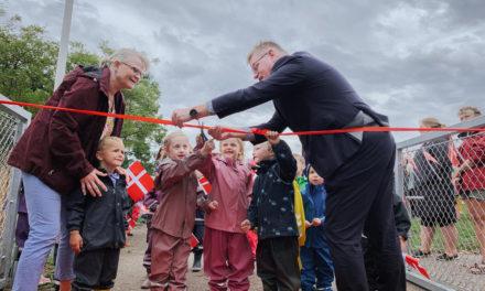 Indvielse af Fårup Skole og Børneby