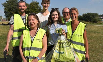 Lørdag samles der affald i Randers – du kan være med