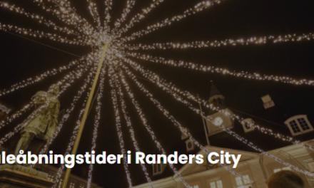 Sådan handler du i Randers City