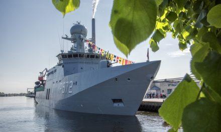Lærlinge kan nu rejse ud med skibet Lauge Koch
